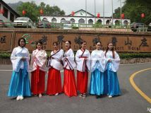 西峡老界岭举办汉服汉韵汉文化活动
