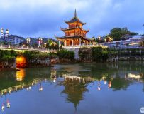 贵州之旅―甲秀楼夜景(1)