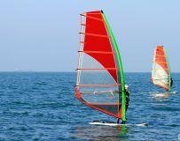 帆板训练基地