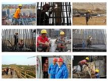 【南水北调中线工程建设摄影大赛】《建设者之歌》(组图)