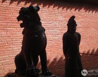 懈州关帝庙的守卫者