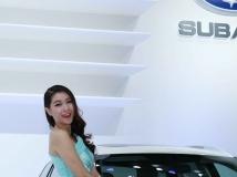 2014深圳市深港澳车展斯巴鲁车模-7P