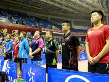 中欧乒乓球世界冠军对抗赛(襄阳站)《风采片》