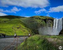 冰岛行。雷克雅维克瀑布(4)