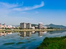 """""""聚集淅川城建""""《鹳河新景》"""