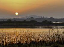 《湿地日出》