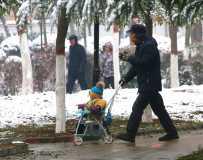 爷爷带你看雪去