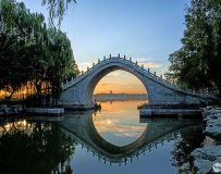 玉带桥迎晨曦