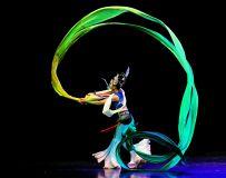 舞蹈展演——青春起航《彩绸舞》