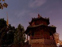 郏县文庙——观星楼夜色