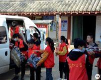 南阳市社区志愿者协会开展百名志愿者文明乡村行走进石桥镇活动 3