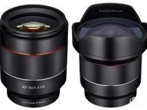 三阳发布50/1.4和14/2.8两支FE口AF镜头