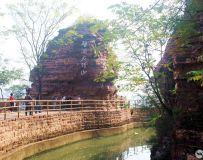 河南林县红旗渠---劈开太行山