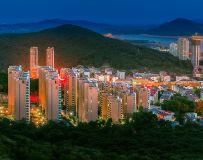 山水之城夜色璀璨