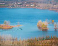 龙泉湖冬韵