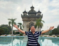 老挝凱旋门广场[一]