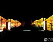 蒙古包夜色