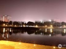 新型翠湖公园夜景二