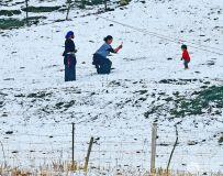 草原人的冬趣