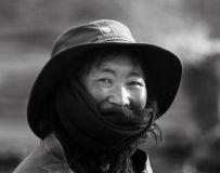 朴实的藏族大姐