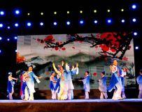 唱响白河群众文化演出节目《梨花颂》2