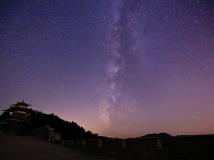 泉城七星台的夜空之一