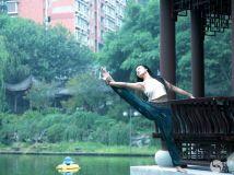 石门公园瑜珈术拍摄活动