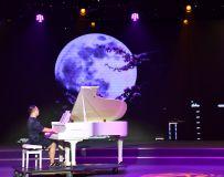 《迎国庆 . 话中秋》文广旅系统文艺演出彩排《模特与钢琴》1
