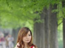 赛富图东湖公园外拍——美女