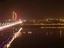 丹江之夜 一江两岸