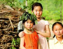 唐河农村的小女孩子们!