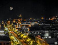 海拉尔夜景