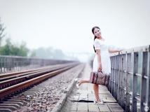 铁路上的姑娘--唐河