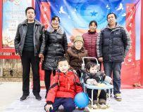 为山区留守儿童、老人及全家福拍照(8)