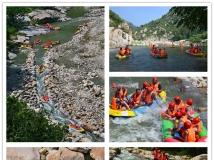 南召猿人峡谷漂流