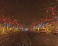 瑞雪兆古城