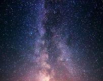 银河下的七峰山