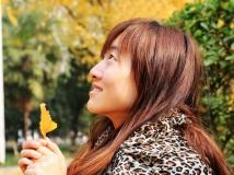 '公园秋色及人像采风'——深秋之银杏(二)