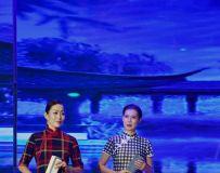 《迎国庆 . 话中秋》文广旅系统文艺演出彩排《模特与钢琴》9
