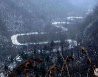 风雪老界岭--山舞银蛇
