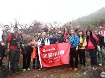 广州部河源连平鹰嘴桃种植基地桃花拍摄活动圆满结束