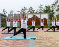 瑜伽   马村区 庆6.21国际瑜伽日