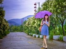 风雨大观苑