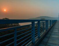 高湖桥日出
