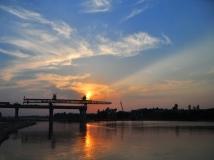 """【两桥一路杯】""""3+1工程""""新野白河大桥之""""虹桥飞架""""(组照)"""