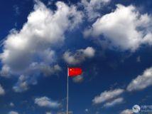 蓝天白云国旗飘_