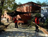 南阳市社区志愿者协会开展百名志愿者文明乡村行走进石桥镇活动 9