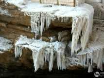 壶口瀑布冰挂