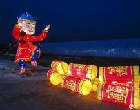 2019方城牡丹园灯展(手机拍摄4)