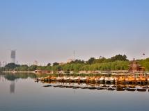 大 明 湖 的 初 秋
